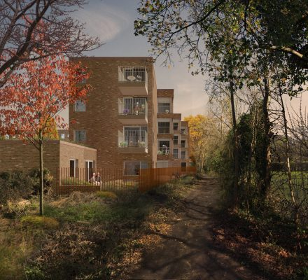 170118 Mae Architects Stag Lane Wandsworth View Elevation Architecture Design