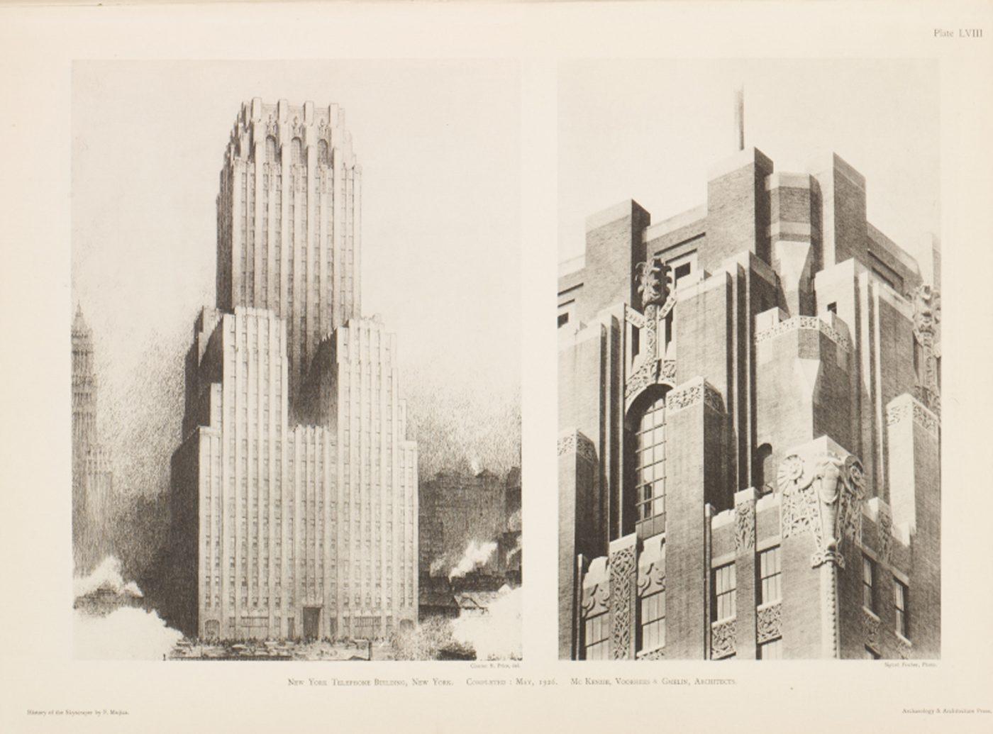 New York Telephone Building Verizon Building Mc Kenzie Voorhees Gmelin Architects Sfw