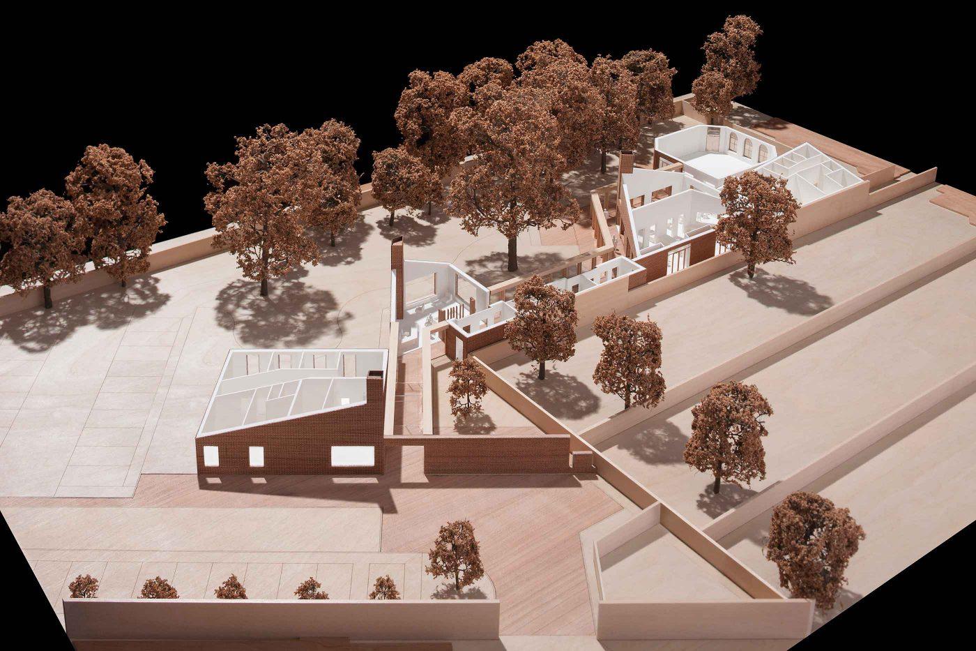 160104 Mae Architects The John Morden Centre Architecture Model Sfw