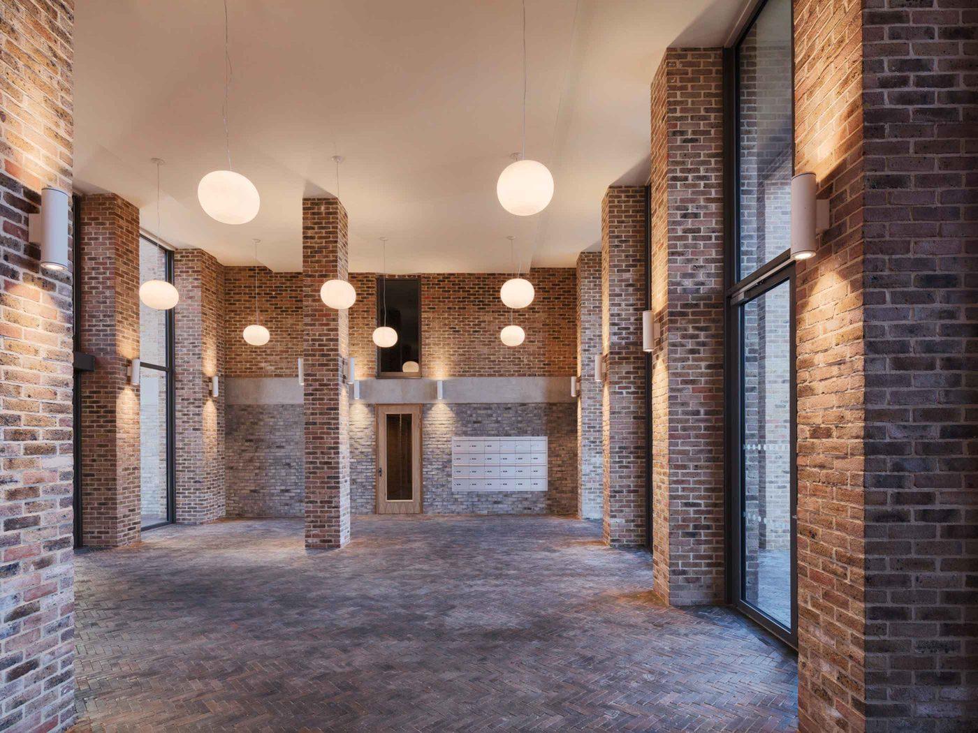 Brentford Lock West Entrance Hall Sfw
