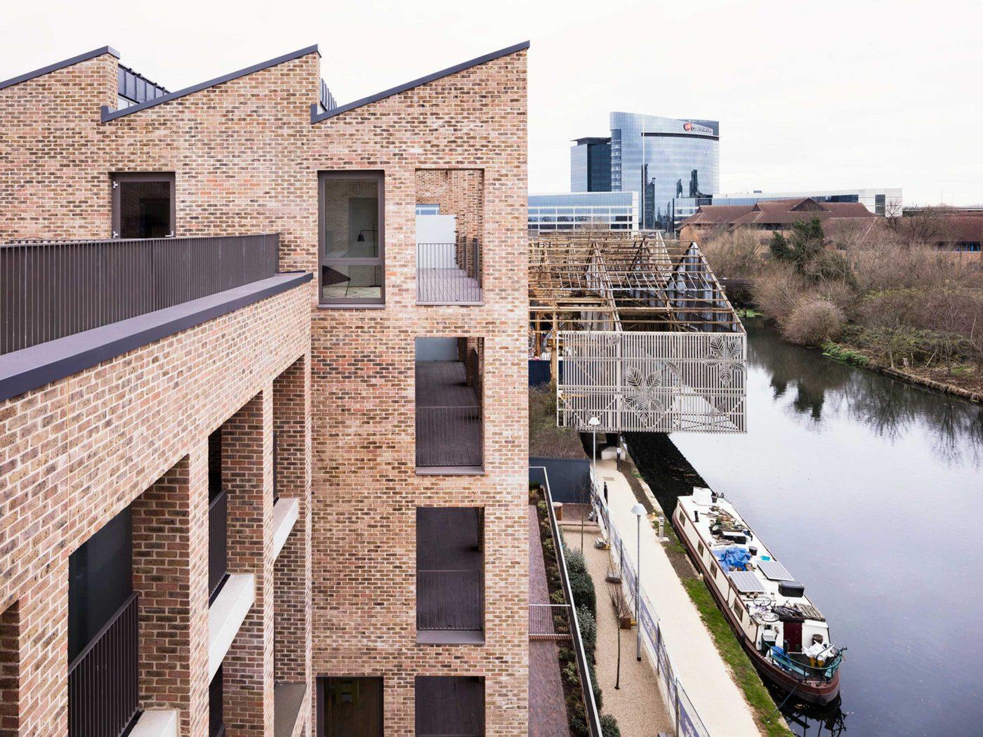 Brentford Lock West Architects Urban Designers And