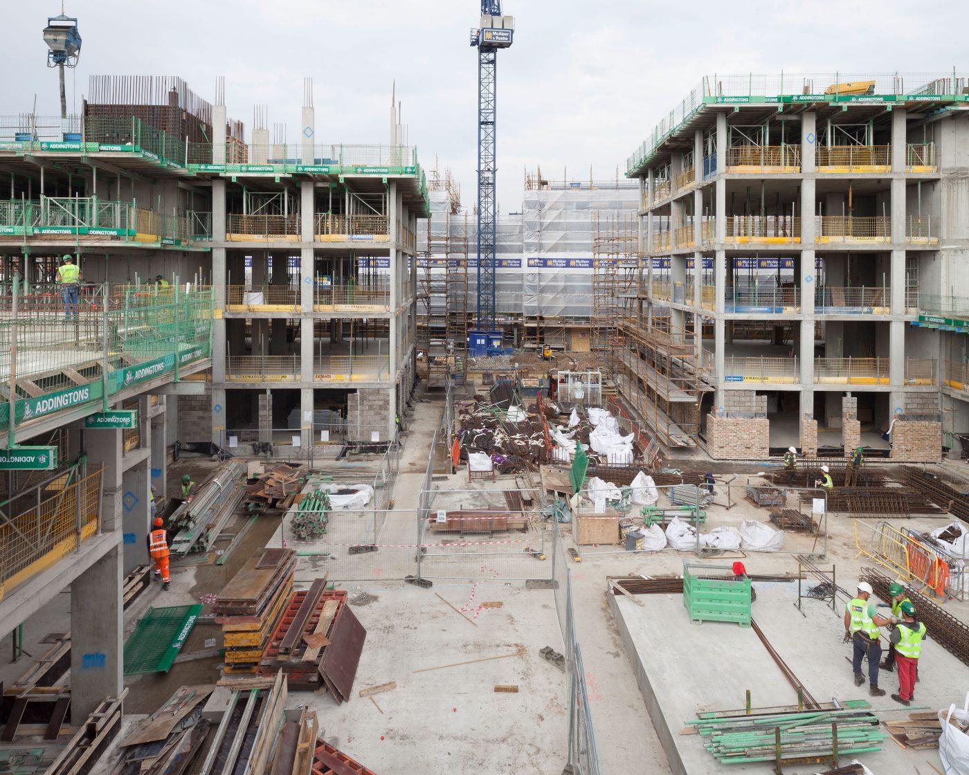 Mae Architects Brentford Lock Site Image Sfw